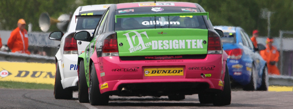 Turbulent Thruxton for Gilham